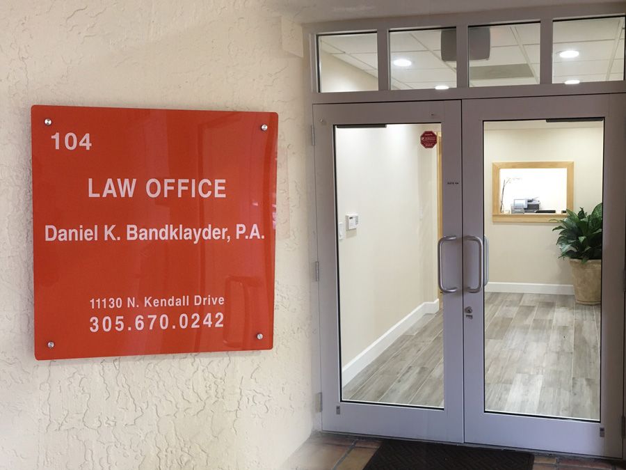 Miami law offices Kendal